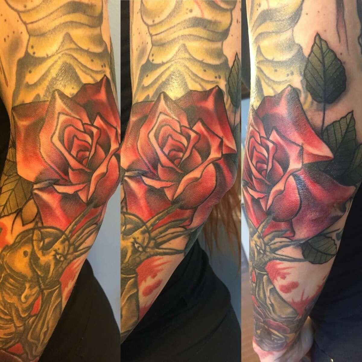Red Shores Tattoo2909 Baldwin Street, Houston Yelp review by Jennifer K: