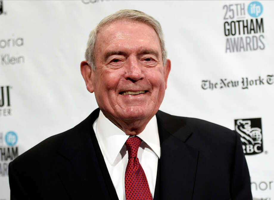 "Former CBS News anchor Dan Rather has written a book on patriotism. ""What Unites Us"" will be published Nov. 7. Photo: AP"
