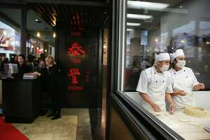 Taiwanese eatery Din Tai Fung opened their third Seattle location today at Pacific Place mall, on the fourth floor, Thursday, March, 9, 2017.  The restaurant, which specializes in dim sum and dumpling soup, has other locations in Bellevue and University Village. (Genna Martin, seattlepi.com)