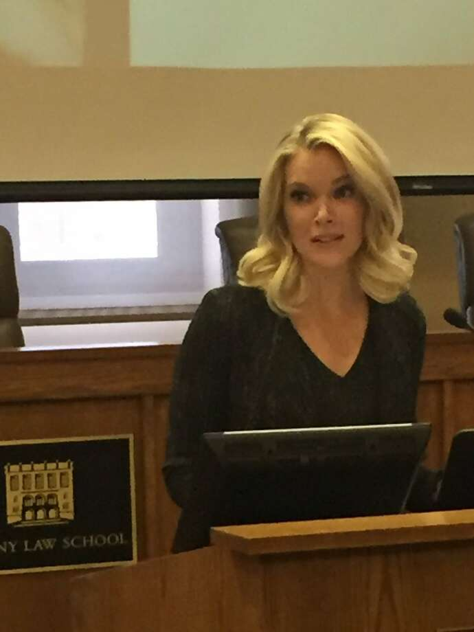 "Megyn Kelly, Albany Law School alumna and NBC News anchor, returned to the law school campus on Thursday, March 9, 2017, to sign copies of her new book, ""Settle for More."" (Robert Gavin/Times Union)"