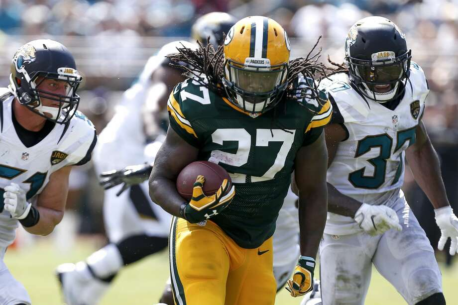 The Seahawks agreed to terms with former Green Bay Packers Pro Bowl running back Eddie Lacy on Tuesday, according to his agent. Photo: Don Juan Moore/Getty Images