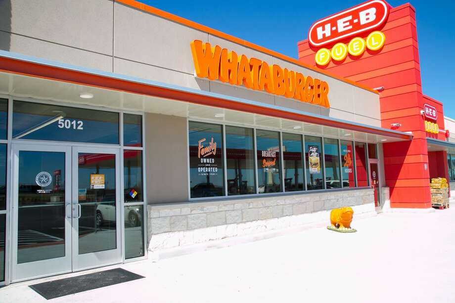 This Whataburger, H-E-B combination in Hutto is the most