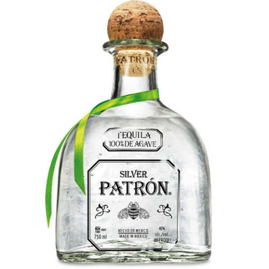 Patrón Silver Tequila is shown in this file photo.