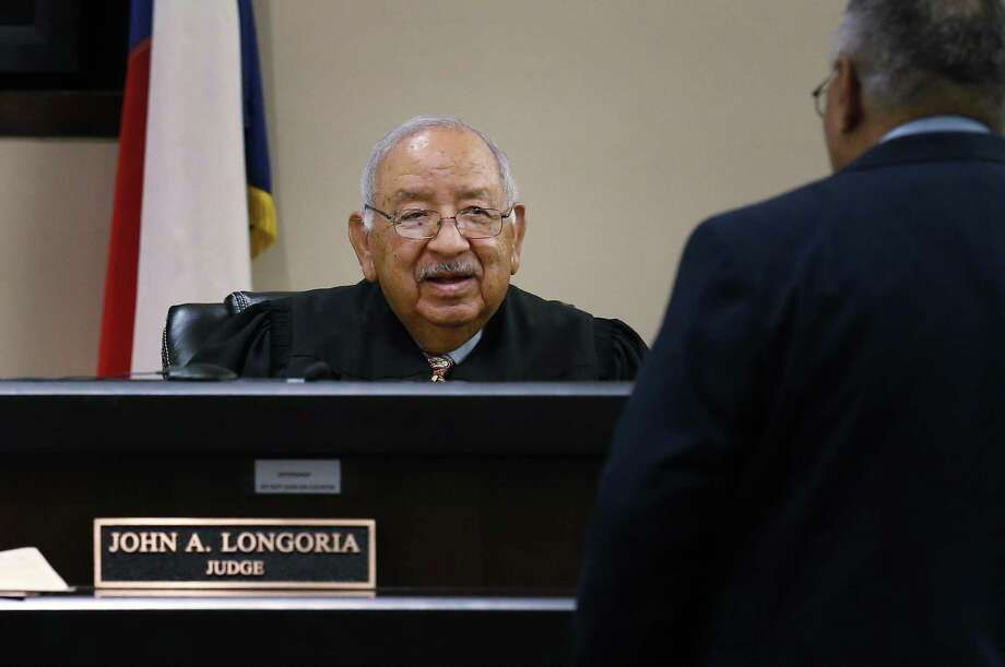 County Court No. 5 Judge John Longoria has expressed confusing statements about bail reform in Bexar County. Photo: Kin Man Hui /San Antonio Express-News / ©2017 San Antonio Express-News