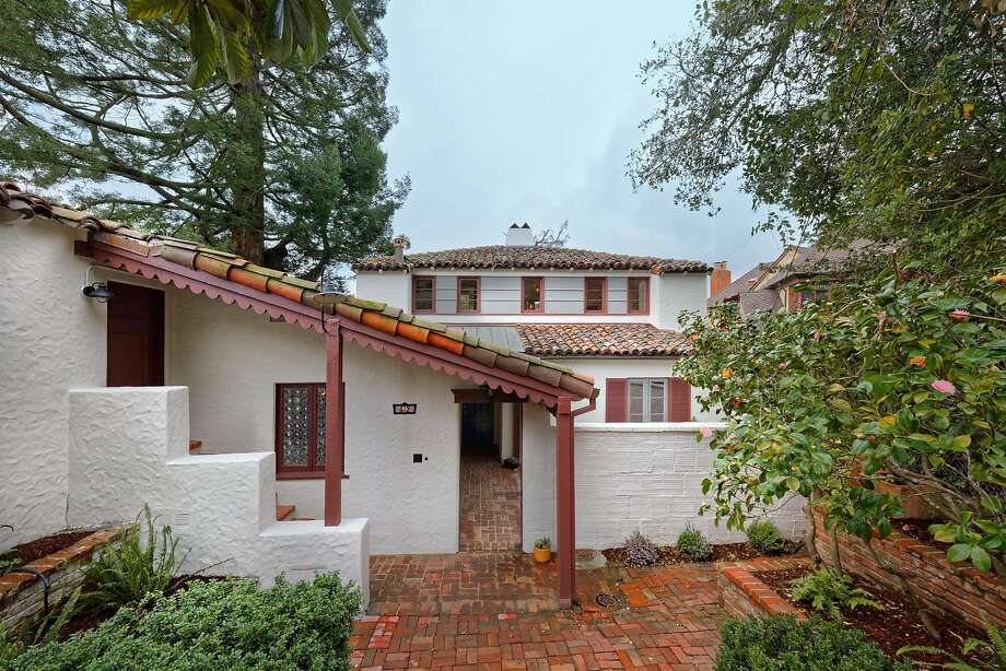 The four-bedroom Mediterranean in Berkeley dates back to 1933. Photo: Nurture Source Designs