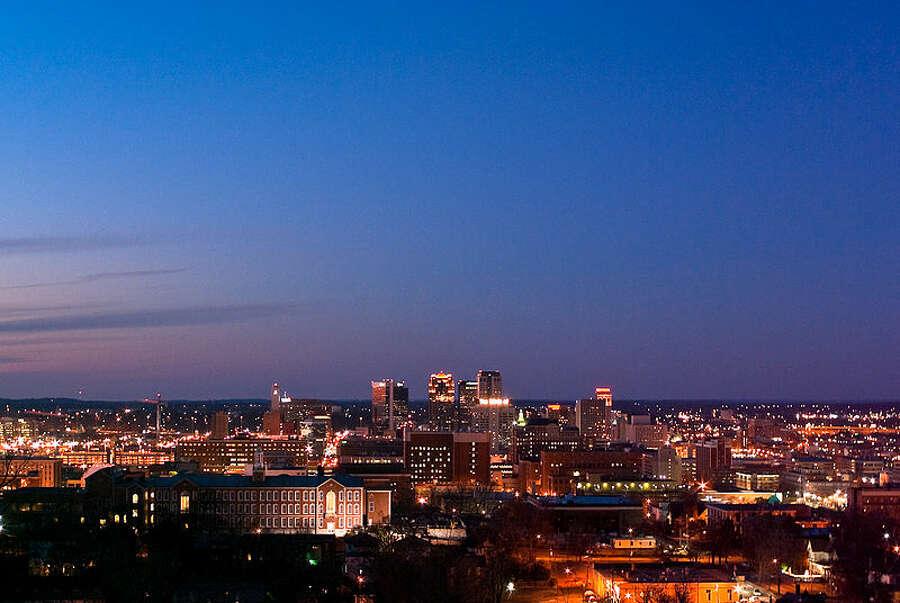 #1. Birmingham, AlabamaViolent crimes per 100K people: 1,746.2Number of violent crimes reported: 3,707Population: 212,291