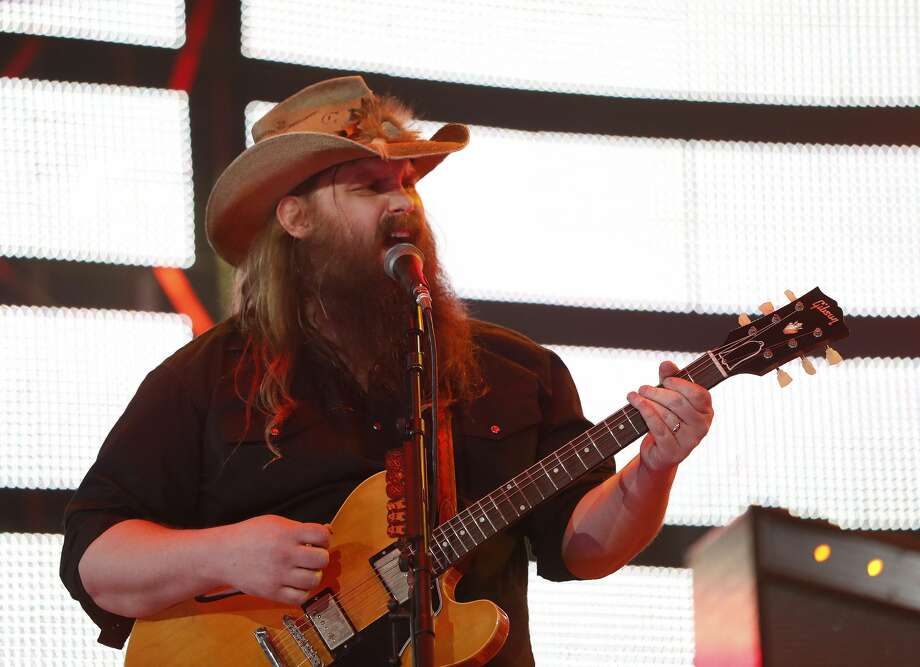 Chris Stapleton performs at the Houston Livestock Show and Rodeo, at NRG Park, Thursday, March 9, 2017, in Houston.  ( Karen Warren / Houston Chronicle ) Photo: Karen Warren/Houston Chronicle
