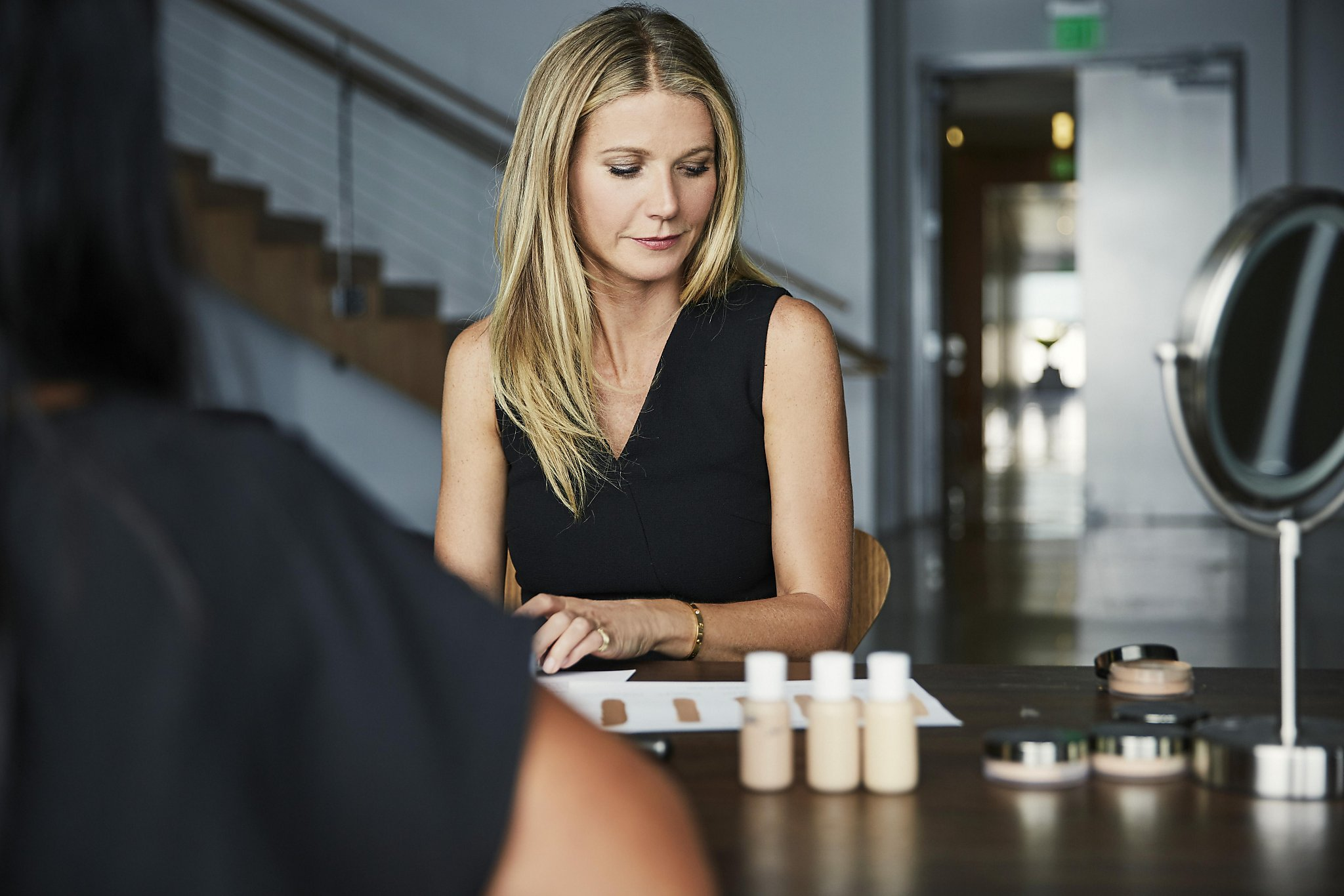 Gwyneth Paltrow comes clean at Juice Beauty