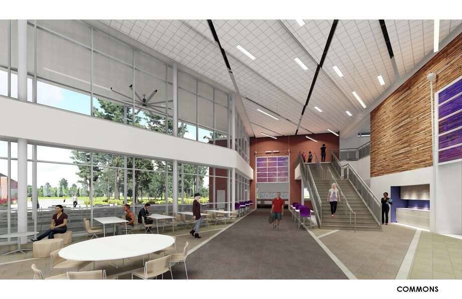 Stantec presented the designs for the $39.4 million Career and        Technology Center, $5.5 million Agricultural Science Center and a $12.7        million, 1,000-seat Willis High School Auditorium Wednesday to the Willis school board. Photo: Willis ISD Submitted Art