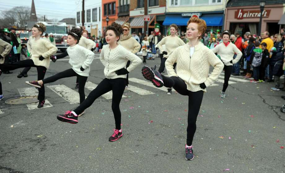 Scenes from the annual St. Patrick's Day Parade through downtown Milford, Conn. Saturday, Mar. 21, 2015. Photo: Autumn Driscoll / Autumn Driscoll / Connecticut Post