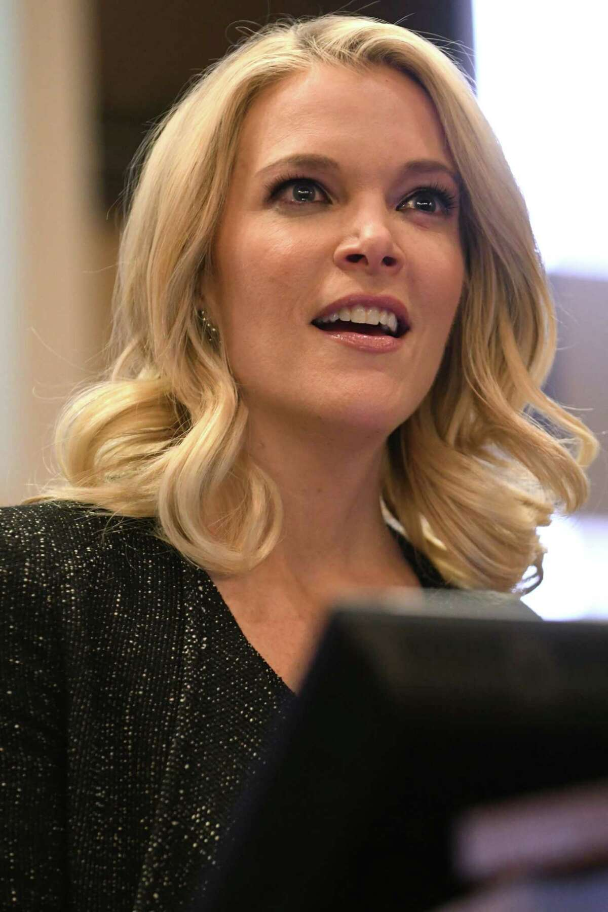Some parents and officials in the town of Bethlehem want Megyn Kelly, Albany Law School alumna and a former NBC News anchor, removed from the high school's Hall of Fame. (Lori Van Buren / Times Union)