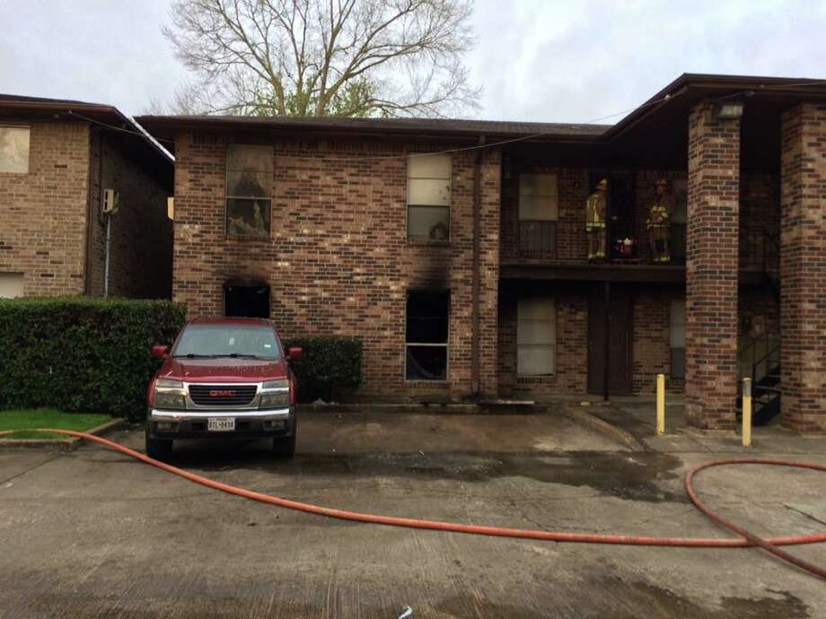 Beaumont FD fought an apartment fire at 4410 Phelan early Friday morning. Heavy smoke led to the evacuation of surrounding apartments. One person was taken to a local hospital. Photo: Beaumont Fire/Facebook