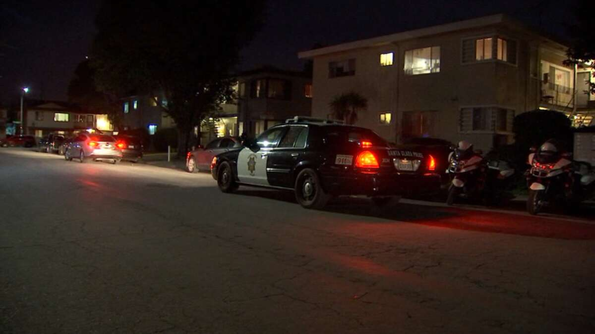 """A man in his mid-20s acting """"erratically"""" was fatally shot by a police officer in Santa Clara Thursday evening."""