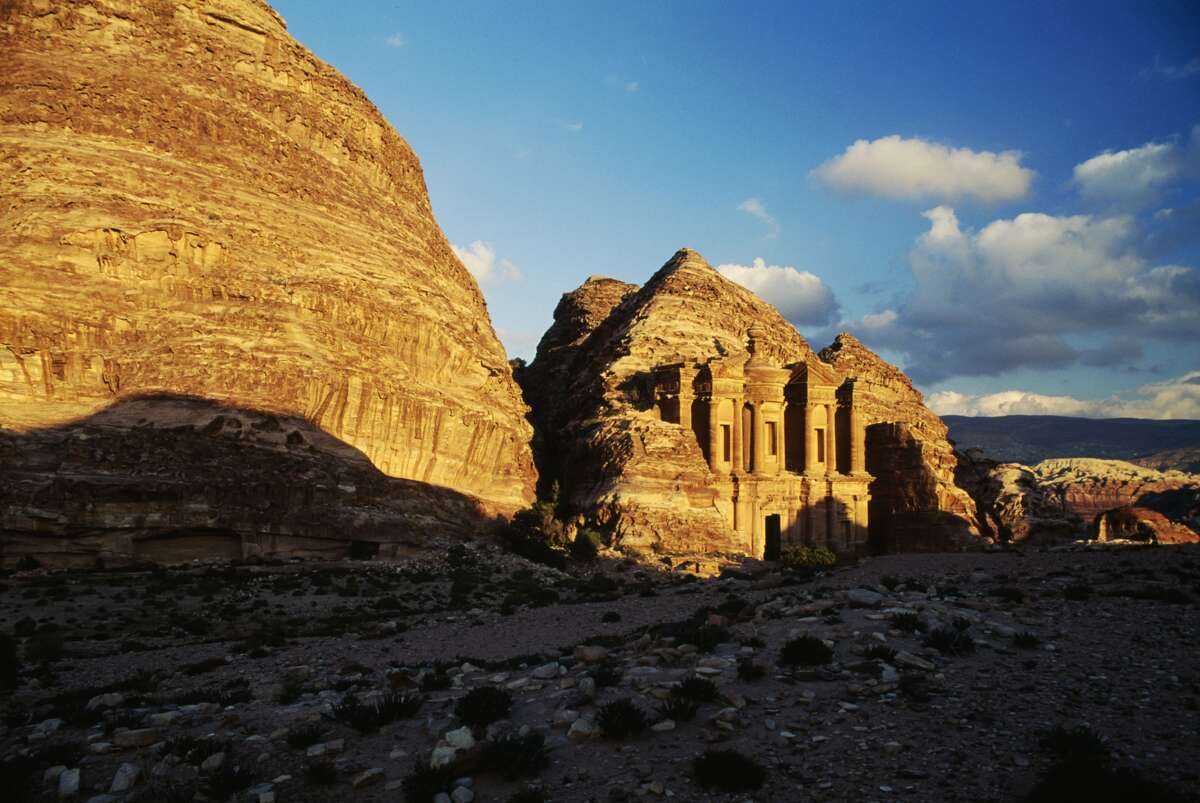 The stunning Petra in Jordan could soon look a lot different, as wind and rain attacking the rocky surface and tourists touching the temple surface contribute to its destruction.