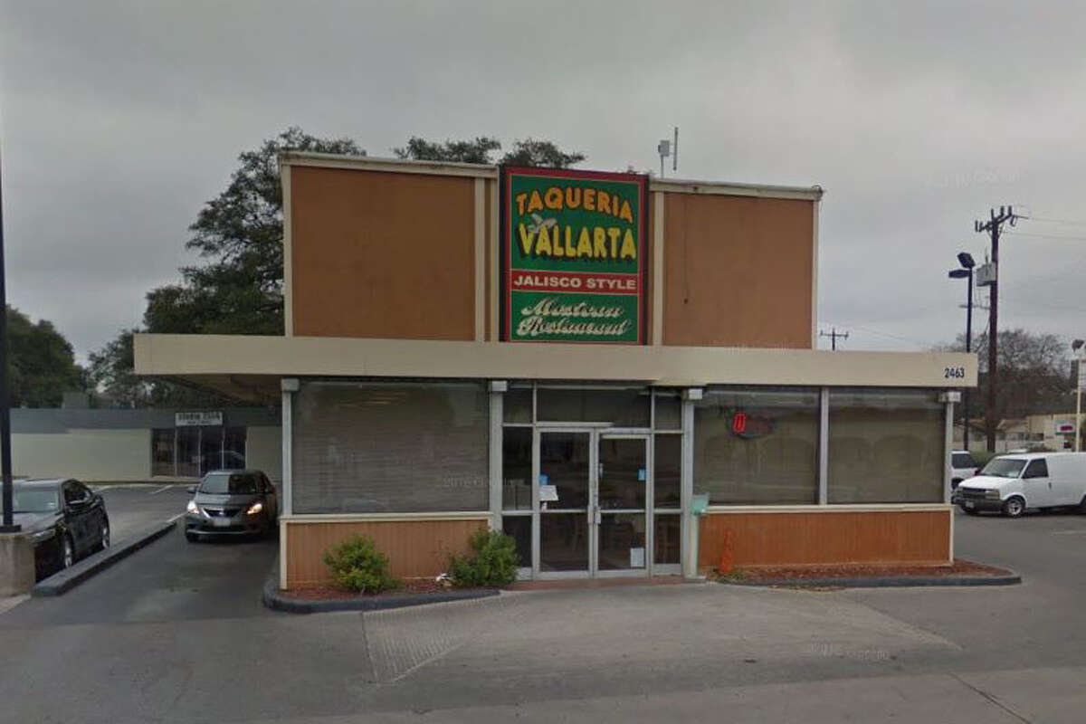 Taqueria Vallarta #4: 2463 Nacogdoches Road, San Antonio, Texas 78217Date: 03/07/2017 Score: 80Highlights: Beans not maintained at the correct temperature, mold seen in the main ice machine, documentation not provided for employees handling ready-to-eat foods with bare hands.