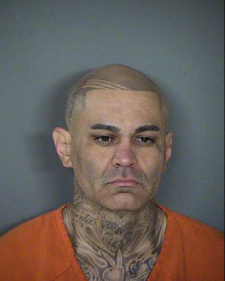 Gilbert Ramirez, 41, faces six felony drug charges and a misdemeanor evading arrest charge. He was booked into the Bexar County Jail Friday on a $42,000 bond. Photo: Bexar County Jail