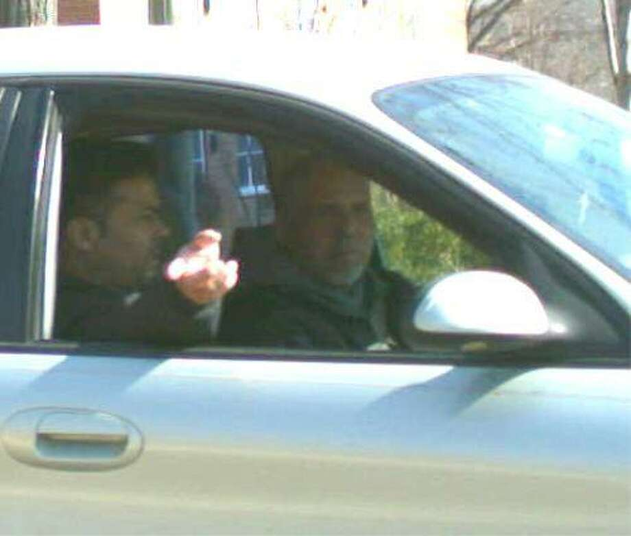 The two men suspected of burglarizing a car on Stevens Street. Photo: Norwalk Police Department / Hearst Connecticut Media