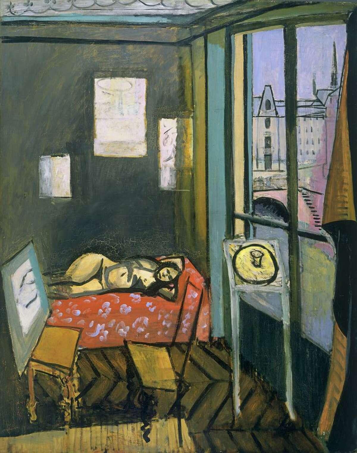 "Henri Matisse, ""Studio, Quai Saint-Michel"" (1916)."