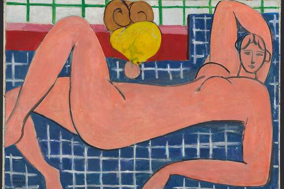 """Large Reclining Nude,"" 1935, from ""Matisse: Life in Color"""