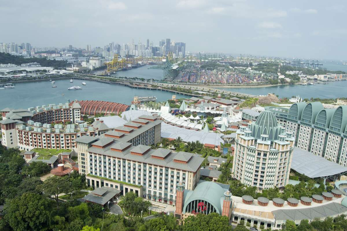 The Resort World Sentosa in Singapore is the third most expensive casino in the world. It cost $6.59 billion to construct.