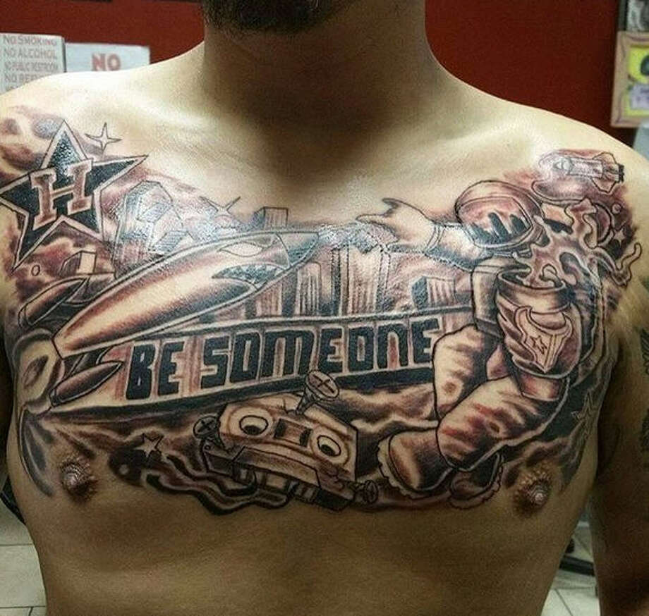 Houston 39 s favorite street art inspires permanent tattoo for Tattoo parlors houston