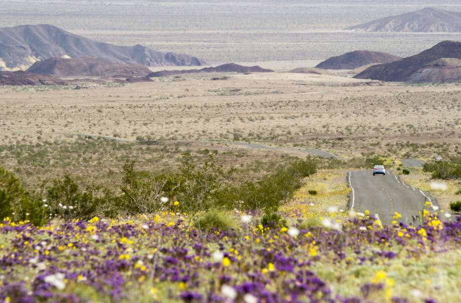 Death Valley National ParkOne of the hottest places in the world, Death Valley is unforgiving to unprepared travelers. But those willing to brace extreme temperatures will experience unrivaled geological formations, some of the state's most awe-inspiring wildflowers and scenery that feels very much out-of-this-world.  Photo: ROBYN BECK/AFP/Getty Images