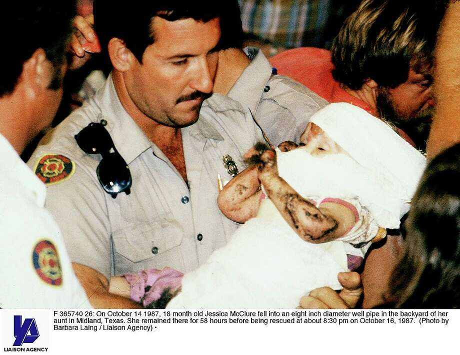 Things to know about Jessica McClure, known as Baby JessicaOn October 14, 1987, 18-month-old Jessica McClure fell into a well-water pipe in the backyard of her aunt in Midland, Texas. Continue through the gallery to learn the major facts about the incident and where Jessica is now. Photo: Barbara Laing/Getty Images