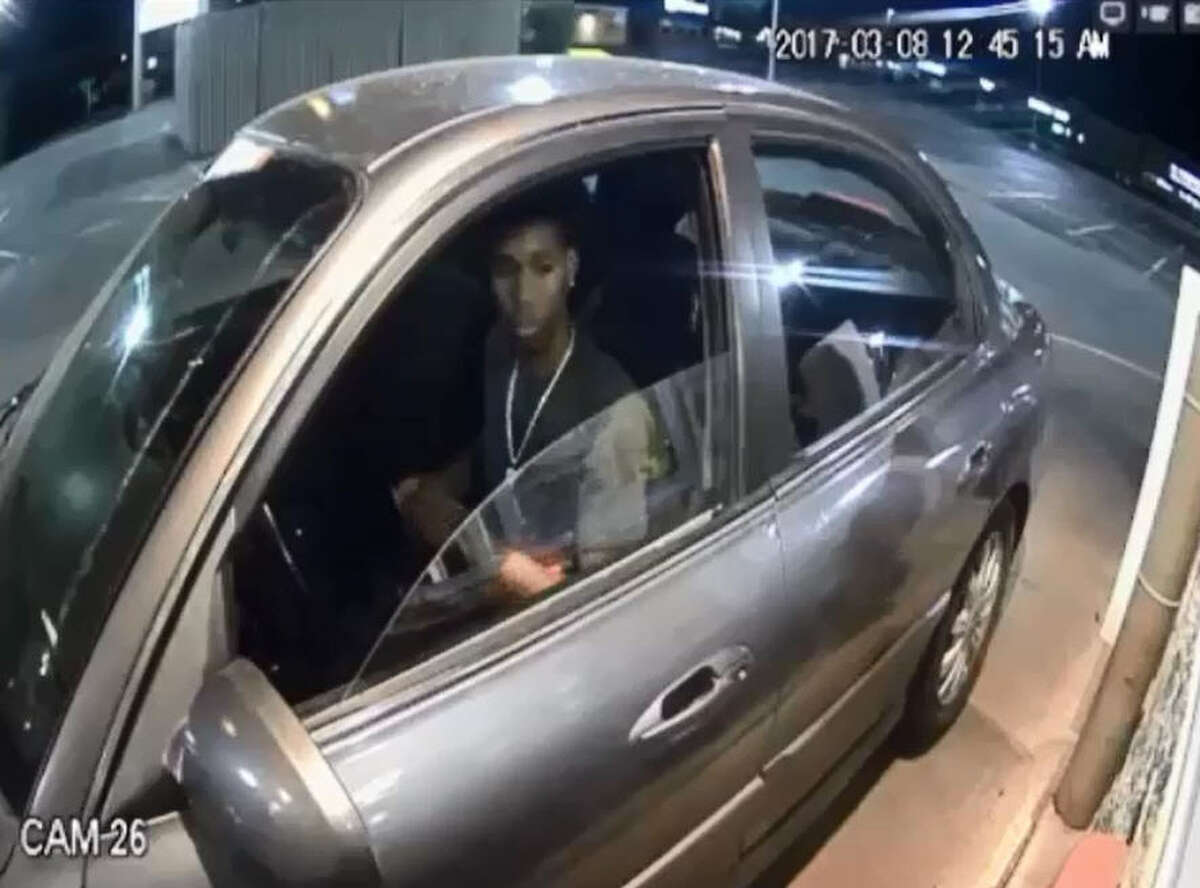 The Harris County Sheriff's Office is asking four help identifying four suspects caught on surveillance video robbing a Spring fast food store via it's drive-thru window.
