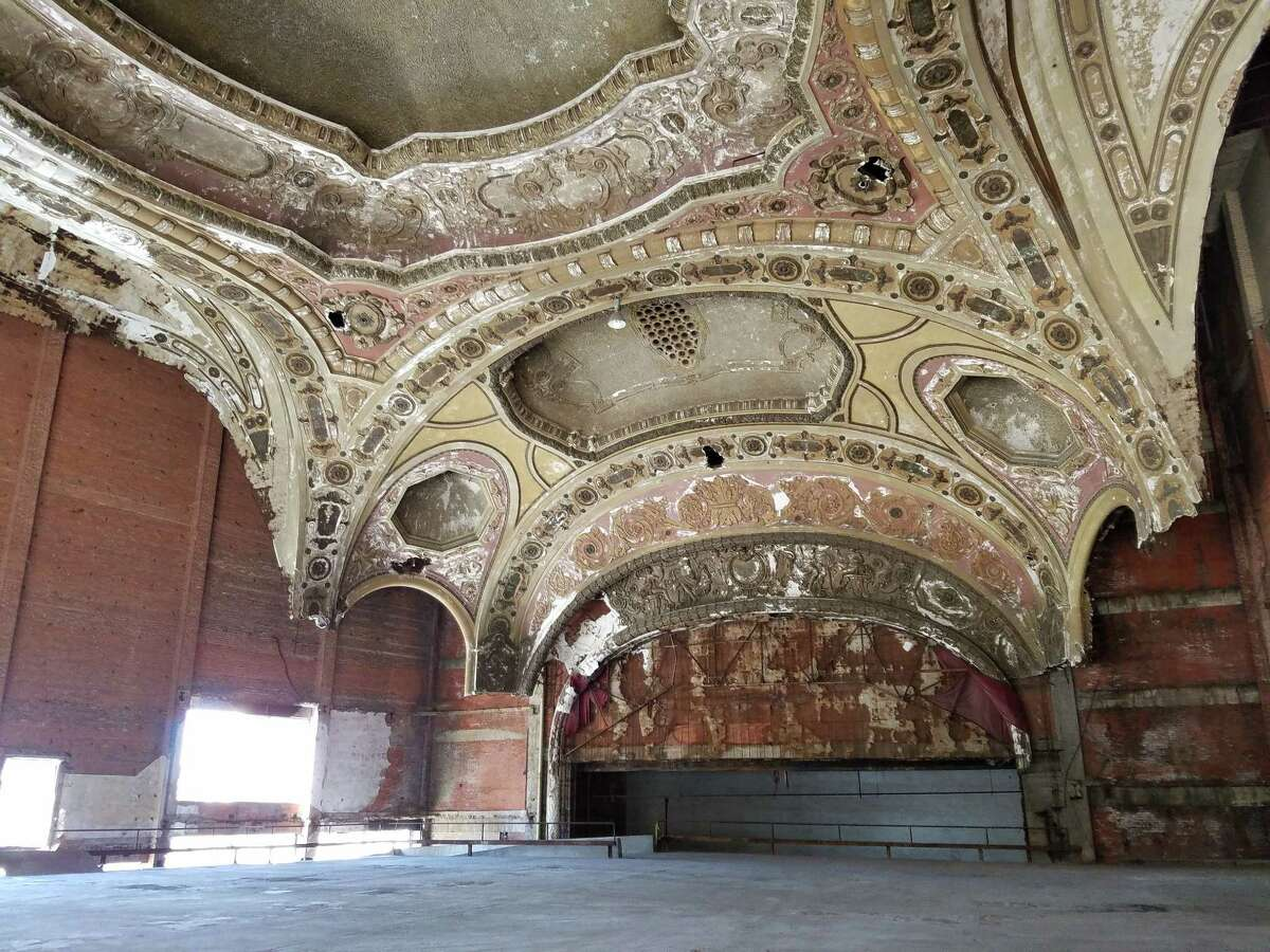 The Michigan Theater was once one of the top performance venues in Detroit, but itÂ?'s been closed since 1976. Since then, itÂ?'s been transformed into a downtown parking garage.