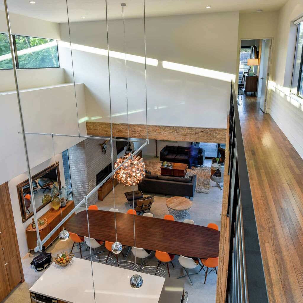 Gwen and jonas referente are the owners of this modern home on colquitt in the montrose