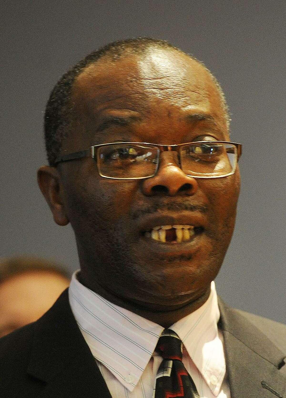 Bridgeport City Budget Director Nestor Nkwo.