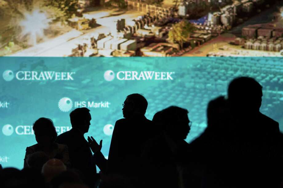 Throughout the conference known as CERAWeek by IHS Markit, energy ministers, CEOs and other top executives showed that the industry is running ahead of policymakers on climate change, no longer treating it as an inconvenient theory, but rather as a hard reality to which it must adapt and change. Photo: F. Carter Smith /Bloomberg News / © 2017 Bloomberg Finance LP