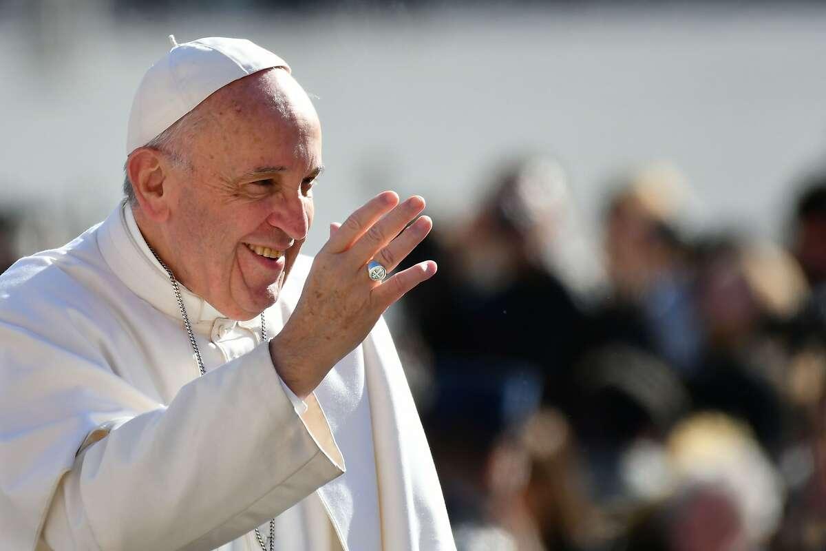 3. Pope Francis - Pope of the Roman Catholic Church