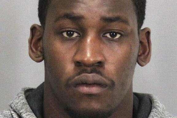 This booking photo released by the Santa Clara Police Department, shows San Francisco 49ers linebacker Aldon Smith following his arrest Friday, Aug. 7, 2015, in Santa Clara, Calif. Smith received second chance after second chance with the San Francisco 49ers, who parted ways with their troubled linebacker Friday following his fifth run-in with the law. Santa Clara police arrested Smith Thursday, and accused him of drunken driving, hit and run and vandalism. (Santa Clara Police Dept. via AP)