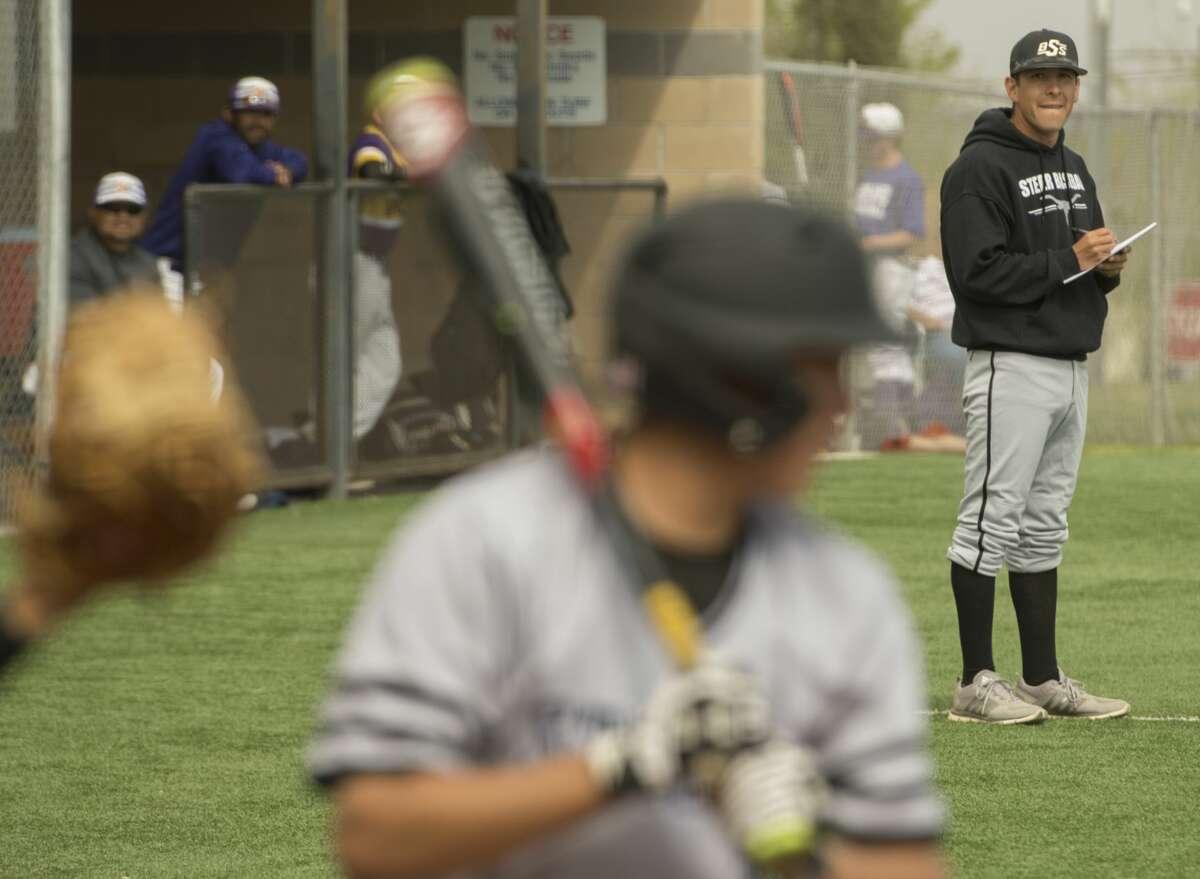 Big Spring head baseball coach Daniel Carrillo Friday 03-10-17. Tim Fischer/Reporter-Telegram