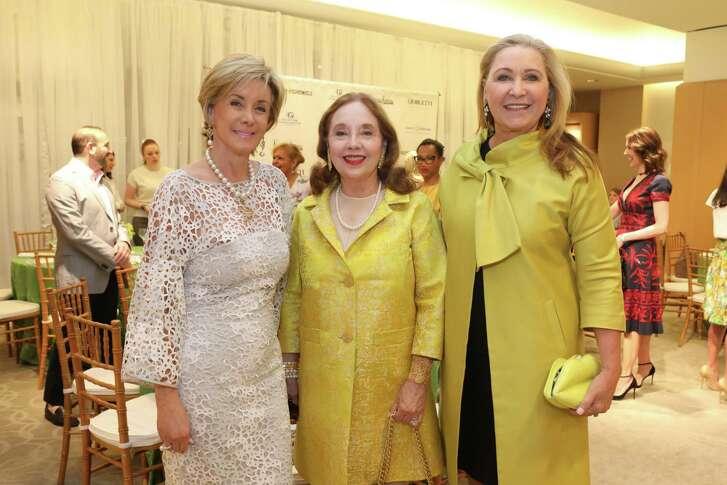 Sheridan Williams, from left, Melinda Berkman and Carol Linn