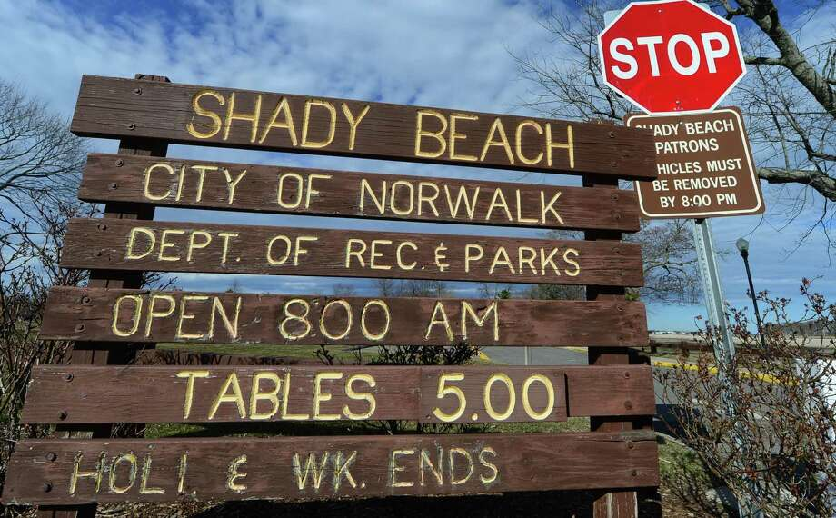 Shady Beach Thursday, March 9, 2017, where fees for tables, now at $5, may go up for non-residents in Norwalk Conn. The Norwalk Common Council's Recreation, Parks and Cultural Affairs Committee is likely to advance proposed fees schedule for fiscal year 2017-18 after shifting some cost increases from residents to non-residents. Photo: Erik Trautmann / Hearst Connecticut Media / Norwalk Hour