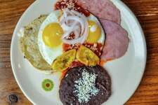 The Fruteria-Botanero Address: 1401 S. Flores St., Suite 102, 210-251-3104, TheFruteria.com Brunch Hours: 9 a.m.-2 p.m. Saturday-Sunday Brunch menu price range: $4-$11.50 Read a review of The Frutería-Botanero