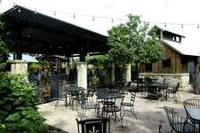 Scenic Loop Cafe's outdoor patio as seen in 2010.