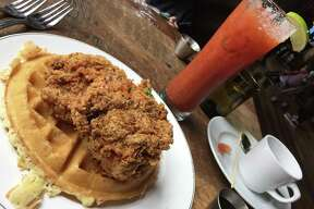 Southerleigh Fine Food & Brewery Address: 136 E. Grayson St., Suite 120, 210-455-5701, southerleigh.com Brunch Hours: 10 a.m.-4 p.m. Sunday Brunch menu price range: $9-$30 Read a review of Southerleigh here