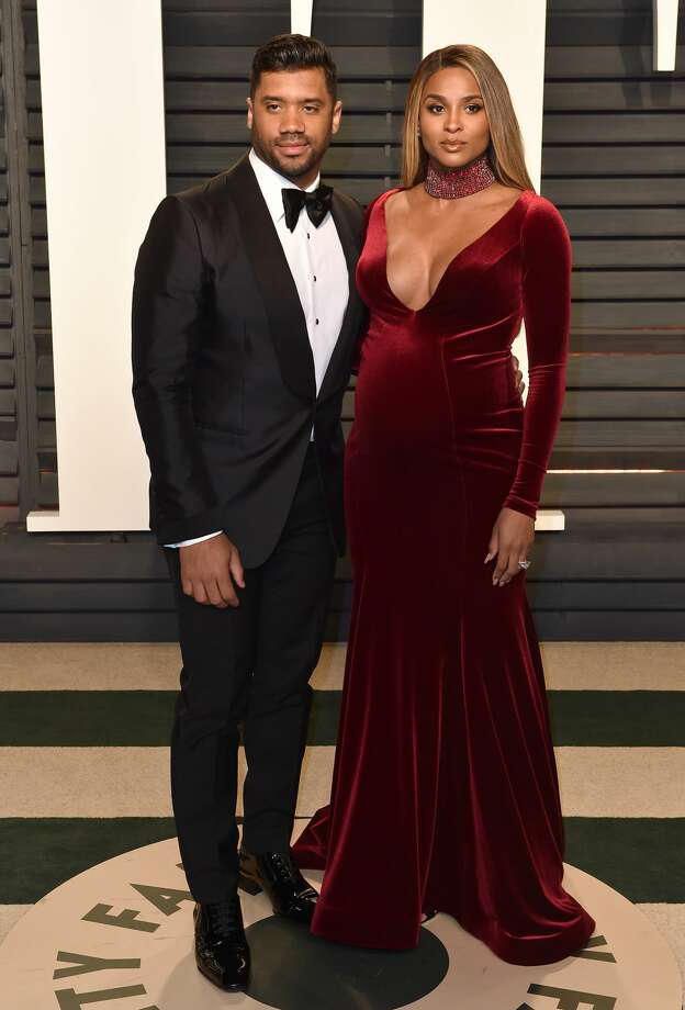FILE:  Singer Ciara and husband Russell Wilson arrive at the 2017 Vanity Fair Oscar Party Hosted By Graydon Carter at Wallis Annenberg Center for the Performing Arts on February 26, 2017 in Beverly Hills, California. Photo: Axelle/Bauer-Griffin/FilmMagic