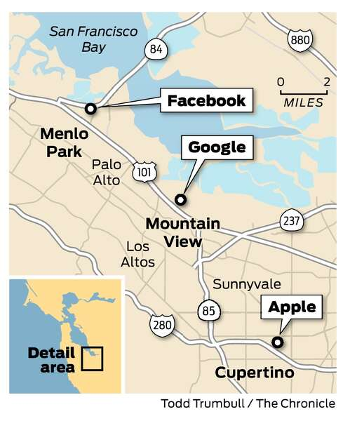Future Apple Google Campuses Go For Workplace Glamour Sfchronicle Com