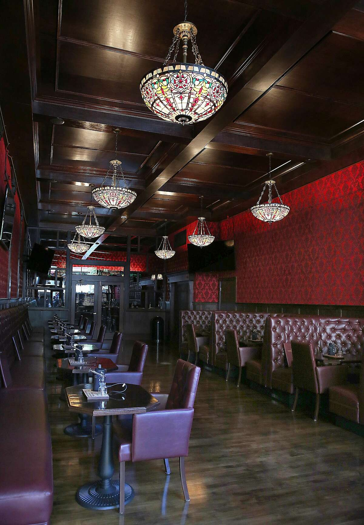 View of the new Barbary Coast SF cannabis lounge on Friday, March 10, 2017, in San Francisco, Calif.