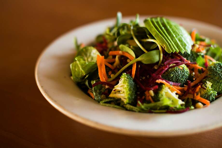 The TriAthlete Salad at Earthbelly in Santa Cruz. Photo: Mason Trinca, Special To The Chronicle