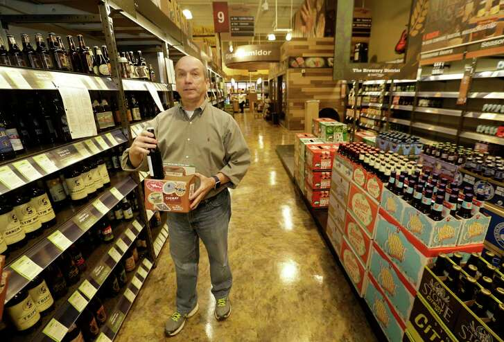 Robert McCormick is district manager for Total Wine & More. The chain expects to open a store in Pearland in the next year.