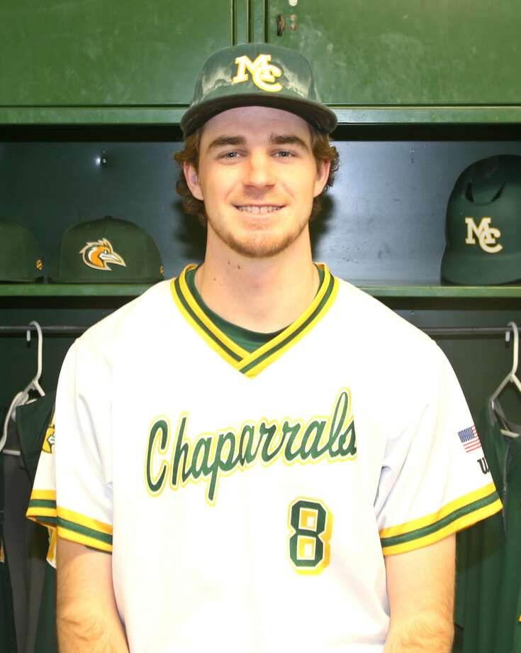 Midland College baseball player Callan Johnson Photo: Forrest Allen