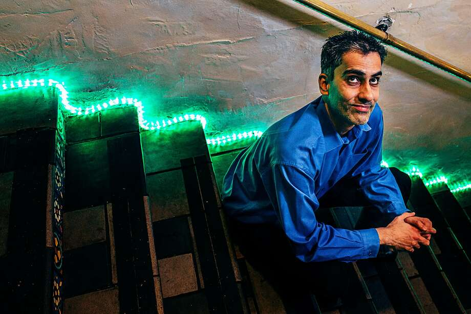 Samson Koletkar founded Comedy Oakland, which puts on five shows over three nights every week at the Spice Monkey restaurant. Photo: Eric Kayne, Special To The Chronicle