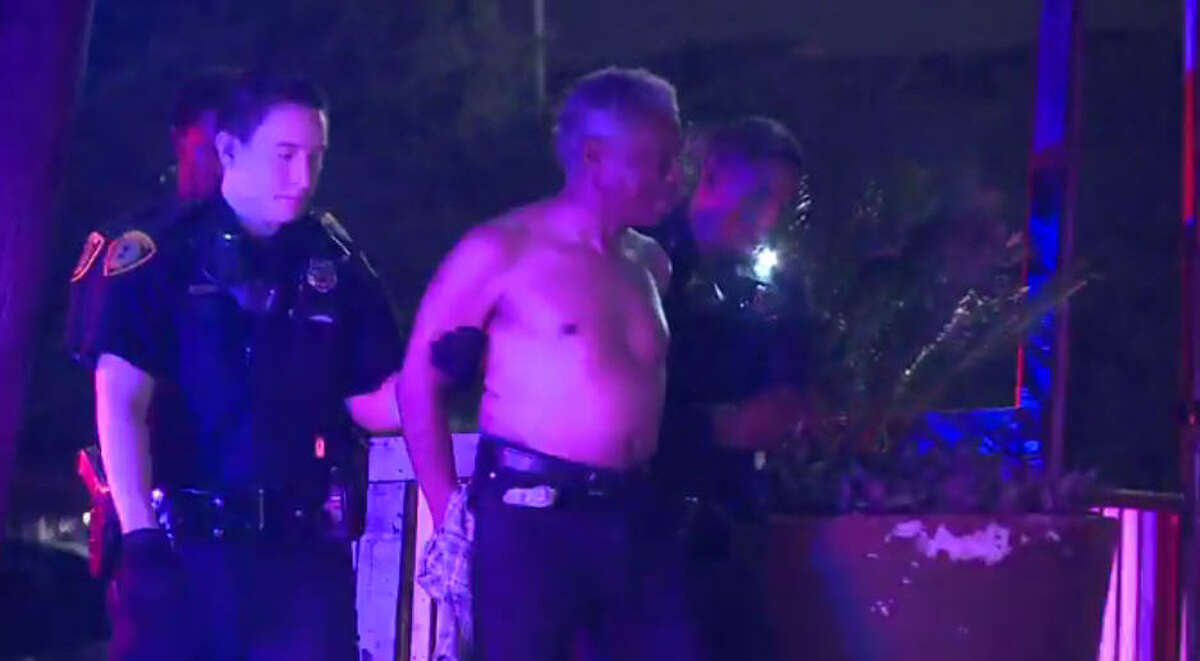 """A senior citizen reportedly shot at two bouncers inside a Houston bar early Saturday morning, after a fight occurred between them, according to police. Houston police were called around 1:30 a.m. to Bar 1 on Old Spanish Trail, when a man got into a fight with two bouncers inside the bar. Witnesses told police the two bouncers were """"savagely"""" attacking the old man, who then drew a gun and struck one of the bouncers."""