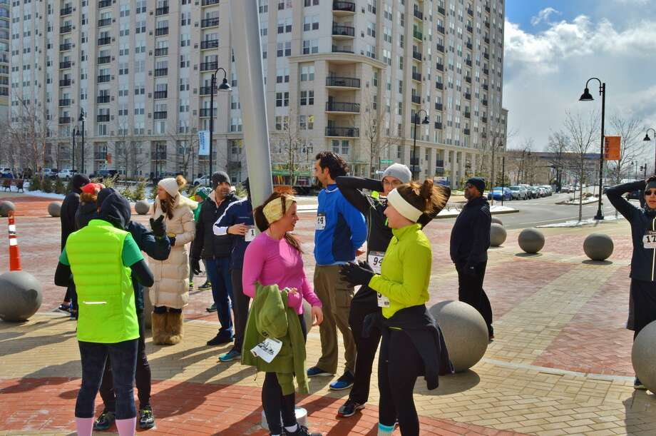 The fifth annual Shamrock Stroll 5K Fun Run/Walk was held at the Harbor Point Waterfront in Stamford on March 11, 2017. Participants dressed up in their Irish best and enjoyed food from Sign of the Whale and Bareburger afterward. Were you SEEN? Photo: Todd Tracy / Hearst CT Media