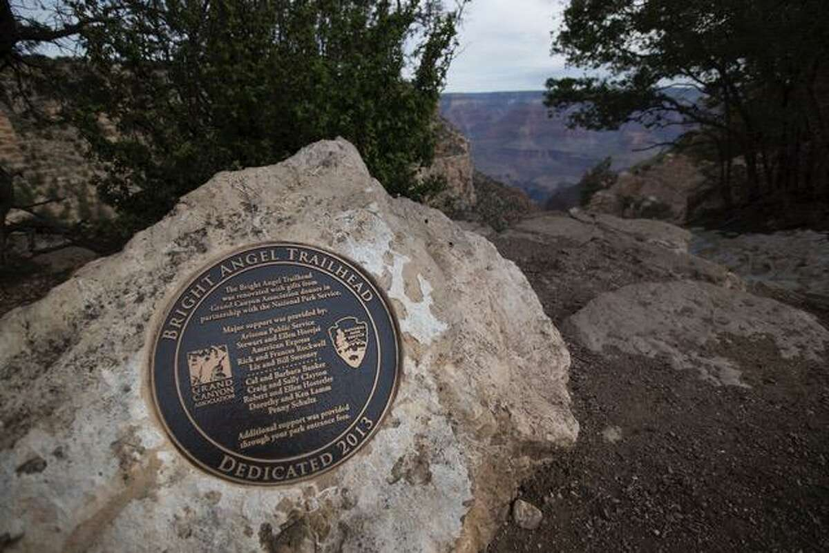 Pictures from last year's MMRF hike in the Grand Canyon